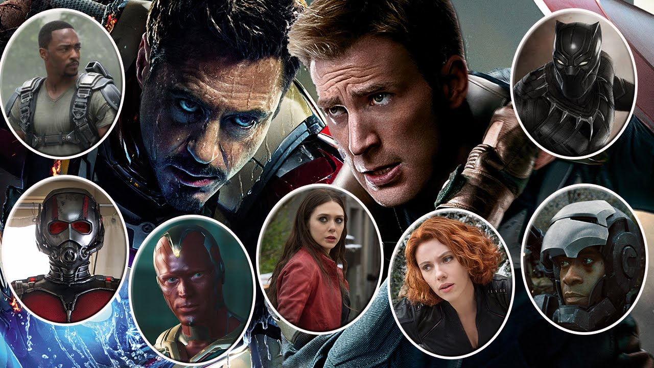 phim nội chiến siêu anh hùng 2016