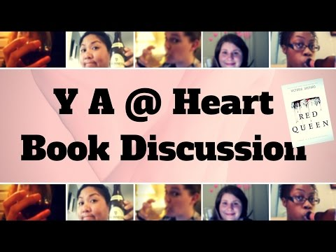 YA @ Heart Red Queen Book Discussion