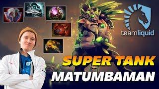 MATUMBAMAN Bristleback   SUPER TANK   Dota 2 Pro Gameplay