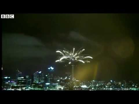BBC News   New year firework celebrations around the globe