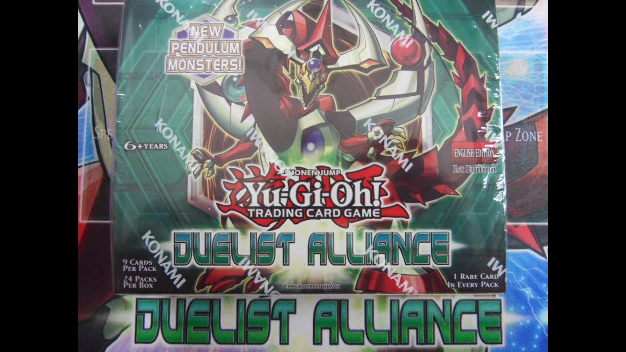 Yugioh Duelist Alliance Box Yugioh 2014 Duelist Alliance