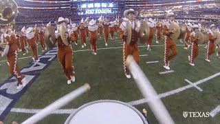 What it's like to march with the Longhorn Band