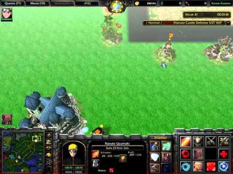 Warcraft III [Naruto Castle Defense] (Info-Video)