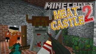 Minecraft | Meat Castle 2 | #8 SOCK MONKEY MANSION