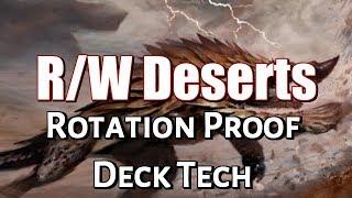 Mtg Deck Tech: R/W Deserts (Standard, Rotation Proof)