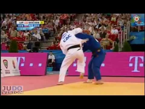 Judo European Championships 2013: Varlam LIPARTELIANI (GEO) - Kirill DENISOV (RUS) Final [-90kg]