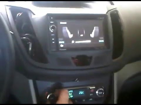 ford c max 2012 with 2 din navi youtube. Black Bedroom Furniture Sets. Home Design Ideas