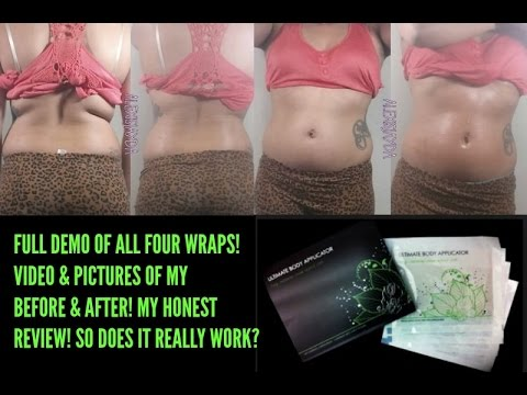 ITWORKS WRAPS FULL REVIEW BEFORE & AFTER VIDEO & PICTURES DOES IT REALLY WORK? -ITWORKS WRAPS