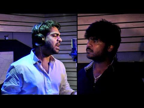 Simbu Singing Adiye Rathiye Song || Shanmuga Pandian's Sagaptham || Making Of