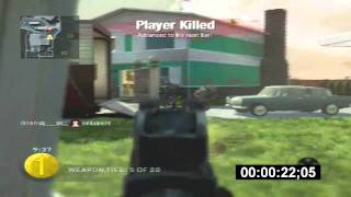 Fastest Gun Game in the World 1:40 (1:30) | Black Ops - Or1G1nAL_FlaMe PS3