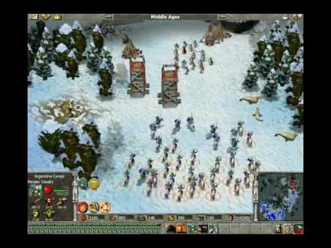 Empire Earth Multiplayer Gameplay - Lanzas Vencen Espadas #4