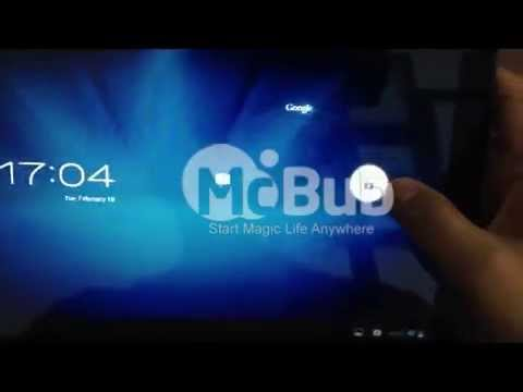 Pipo M9 RK3188 quad core tablet PC video review