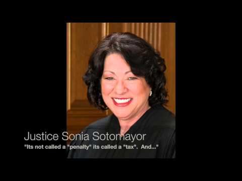 Supreme Court Justice Sonia Sotomayor Gets Laughed At (Sebelius v Hobby Lobby)