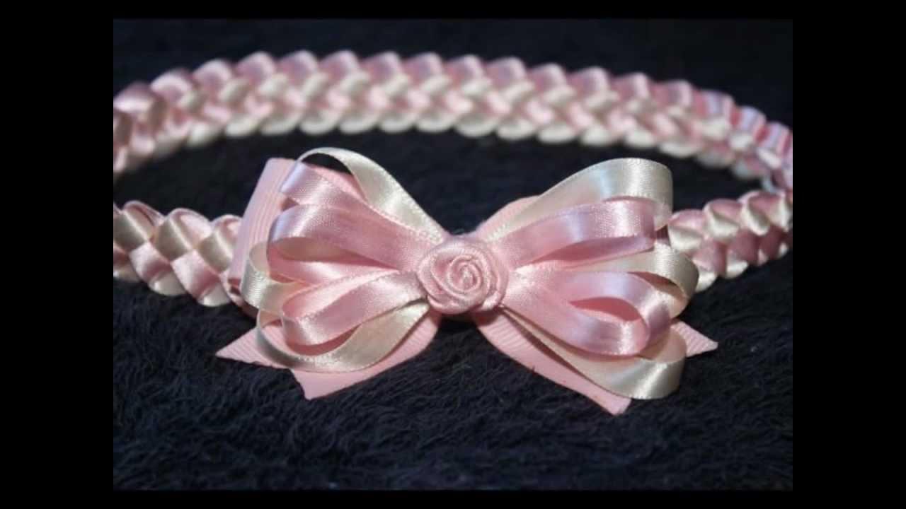 Sandalias y diademas para beb s bellos accesorios para el cabello baby girl sandals youtube - Diademas para ninas ...
