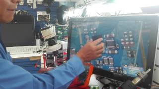 LG G3 STYLUS SIN LUZ EN DISPLAY.  reparacion epecializada.