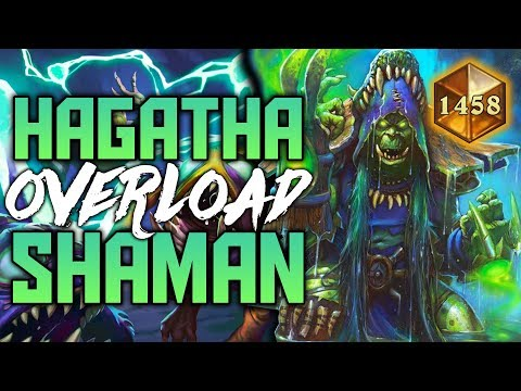 Hagatha Giant Overload Shaman | The Witchwood | Hearthstone Expansion