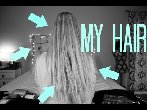 My Hair Care Routine + Tips on Growing Your Hair!