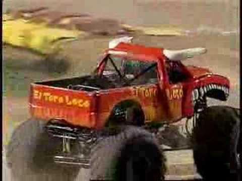 Monster Jam - Batman vs. El Toro Loco Monster Truck In El Paso, TX 2007 Music Videos