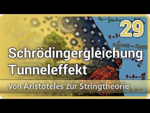 Schrödingergleichung Tunneleffekt • Aristoteles ► Stringtheorie (29) | Josef M. Gaßner