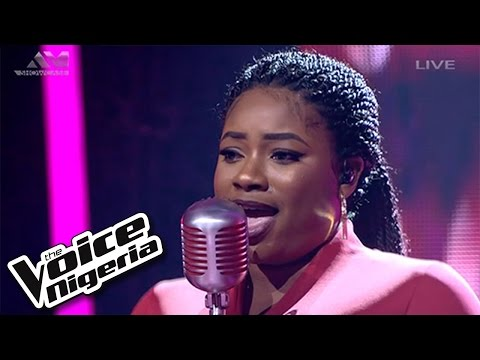 """Shammah sings """"I'd Rather Go Blind""""/ Live Show / The Voice Nigeria 2016"""