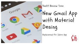 gmail phone app material design review 2019