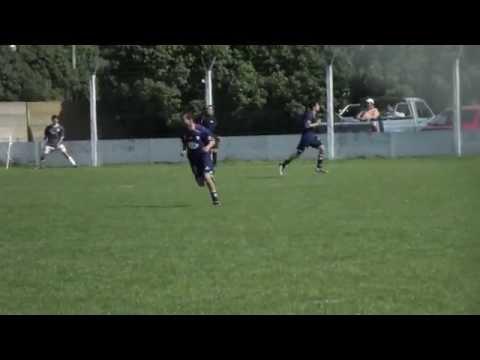 Gol de Ministerio de Quequén a Independiente de San Cayetano - Reserva 7ma Interzonal Necochea  2014