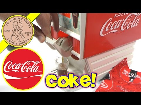Coca Cola Kids Party Coke Soda Dispenser