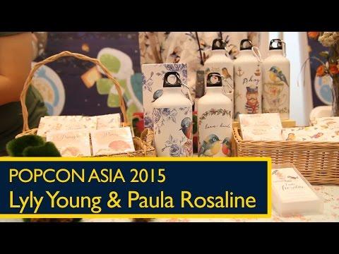 Popcon Asia 2015: Kelir - Lyly Young dan Paula Rosaline