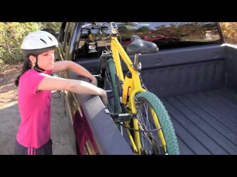 Bike Racks For Trucks Beds With Bed Covers RecRac Bike Racks for Pickups