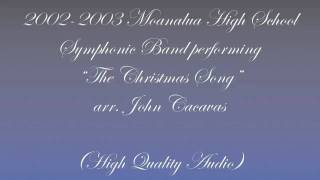 34 The Christmas Song 34 2002 2003 Moanalua High School Symphonic Band