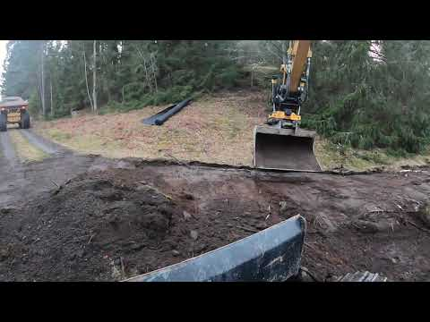 Road preparation for lumber trucks: 4 turns and a turnaround Part: 4