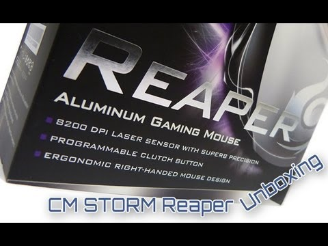 CM Storm Reaper unboxing HD/german/deutsch