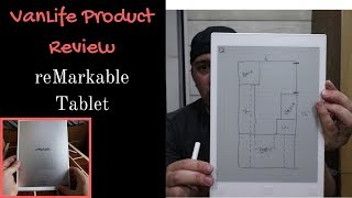 Van Life Product Review: reMarkable Tablet - How this tablet helps me with daily VanLife