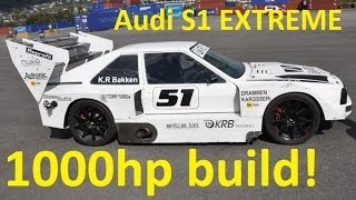 Audi S1 1000hp Build & Testdrive by KRB Trading