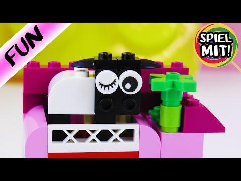 SCHAF IN KATHIS GARTEN   Lego Classic 10692   Einfache Anleitung Spiel mit mir Kinderspielzeug