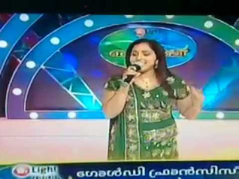 Asianet Mailanji Goldie's Golden Voice video