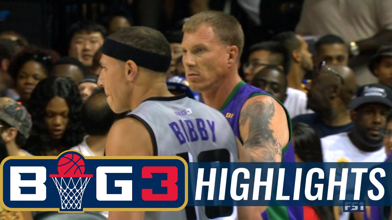 Ghost Ballers vs 3 Headed Monsters | BIG3 HIGHLIGHTS