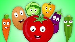 thực vật bài hát | trẻ em bài hát | vần cho trẻ em | Vegetable Song
