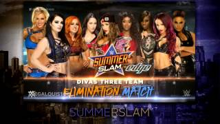 WWE SummerSlam 2015 Full and Official Match Card - HD