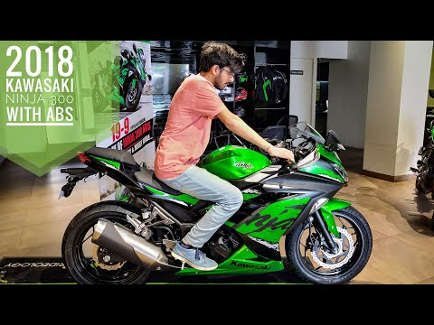 2019 Kawasaki Ninja 300 with ABS