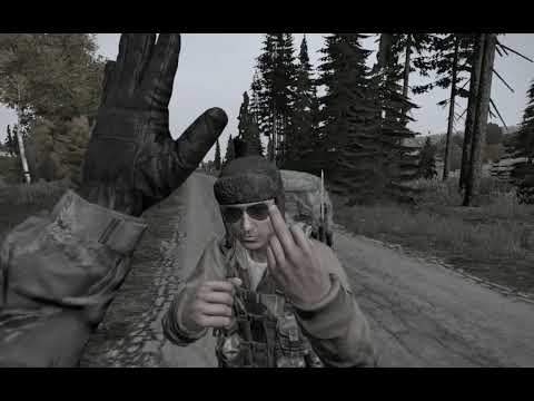 Dayz - Tried to high-five a guy coming out of Grishino