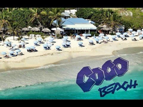 Orient Beach Bay. Coco Beach. Saint Martin. SXM.