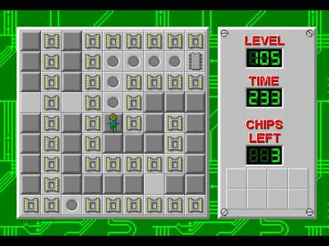 Chips Challenge full playthrough