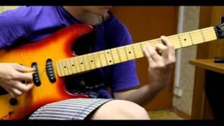 Houkago Tea Time (K-On) -- Fude Pen Boru Pen~ (Guitar Cover)
