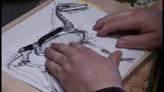 Sculptor David Lemon - Making a Wire Armature for a Horse
