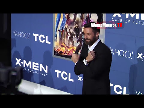 Emma Roberts, Ellen Page, Hugh Jackman 'X Men: Days Of Future Past' New York premiere