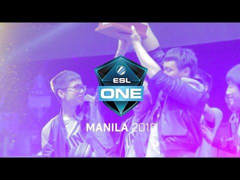 ESL One Manila - MineskiTV Aftermovie