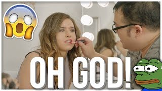 SCARRA DOES MY MAKEUP!! | Pokimane