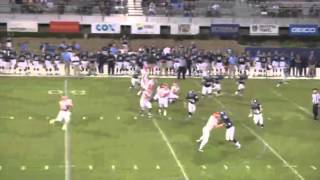 Dayton Football End Around Touchdown Pass