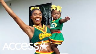 Gabrielle Union And 11-Month-Old Daughter Kaavia Twin In Matching 'Bring It On' Costumes